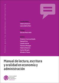 Manual de lectura, escritura y oralidad en economía y administración