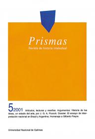 Prismas Nº 05 / 2001