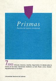 Prismas Nº 07 / 2003