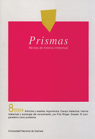 Prismas Nº 08 / 2004