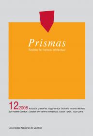 Prismas Nº 12 / 2008