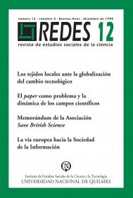 Redes Nº 12
