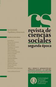 Revista de Ciencias Sociales. Segunda época Nº 17