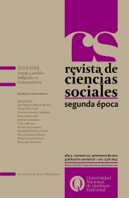 Revista de Ciencias Sociales. Segunda época Nº 20
