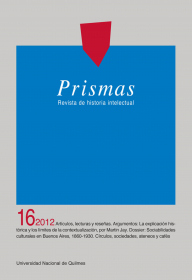 Prismas Nº 16 / 2012