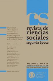 Revista de Ciencias Sociales. Segunda época Nº 23