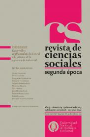 Revista de Ciencias Sociales. Segunda época Nº 24