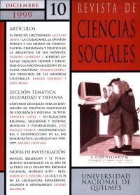 Revista de Ciencias Sociales Nº 10
