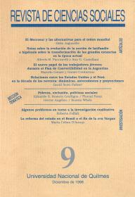 Revista de Ciencias Sociales Nº 9