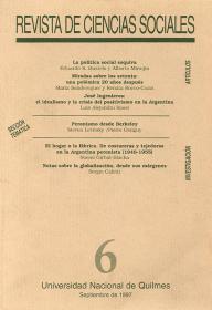 Revista de Ciencias Sociales Nº 6