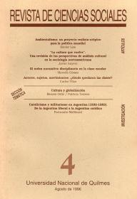 Revista de Ciencias Sociales Nº 4