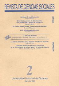Revista de Ciencias Sociales Nº 2