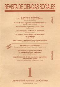 Revista de Ciencias Sociales Nº 1