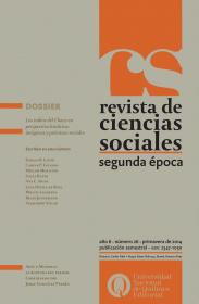 Revista de Ciencias Sociales. Segunda época Nº 26
