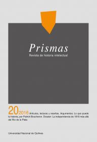 Prismas Nº 20 / 2016