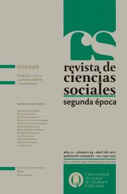 Revista de Ciencias Sociales. Segunda época Nº 39